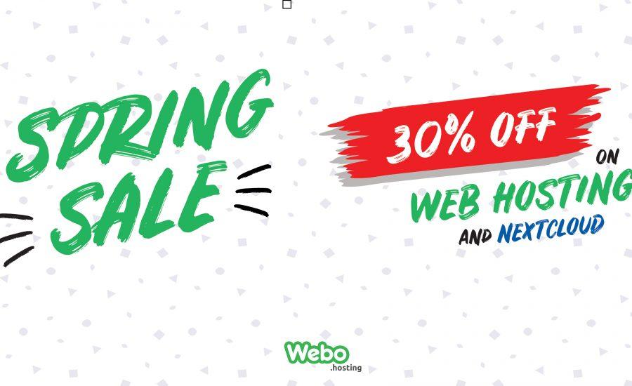 Spring sale 30% OFF