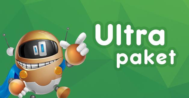 Webo Ultra paket spletnega gostovanja